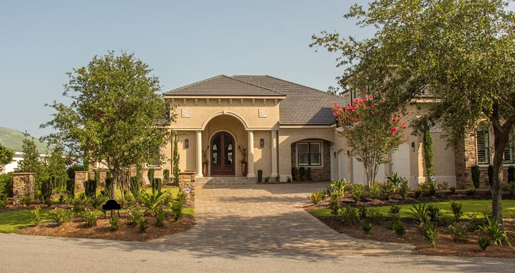 Greenearth handled the landscaping for this home in a private Sandestin community