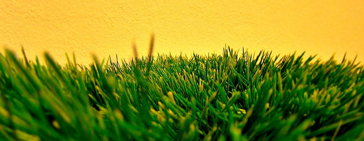 Installing artificial turf is similar to laying patio pavers.