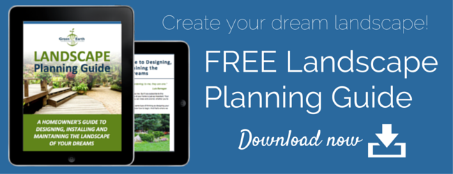 free landscape planning guide from GreenEarth