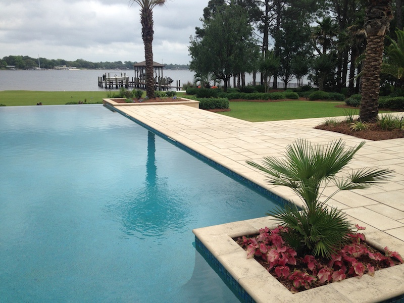 pool hardscaping panama city